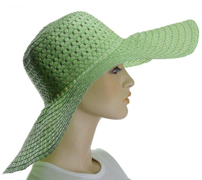 Салатная шляпка с дырочками, Зеленый