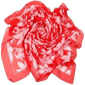 Парео Venera 2801272 бело-красные лилии, Красный