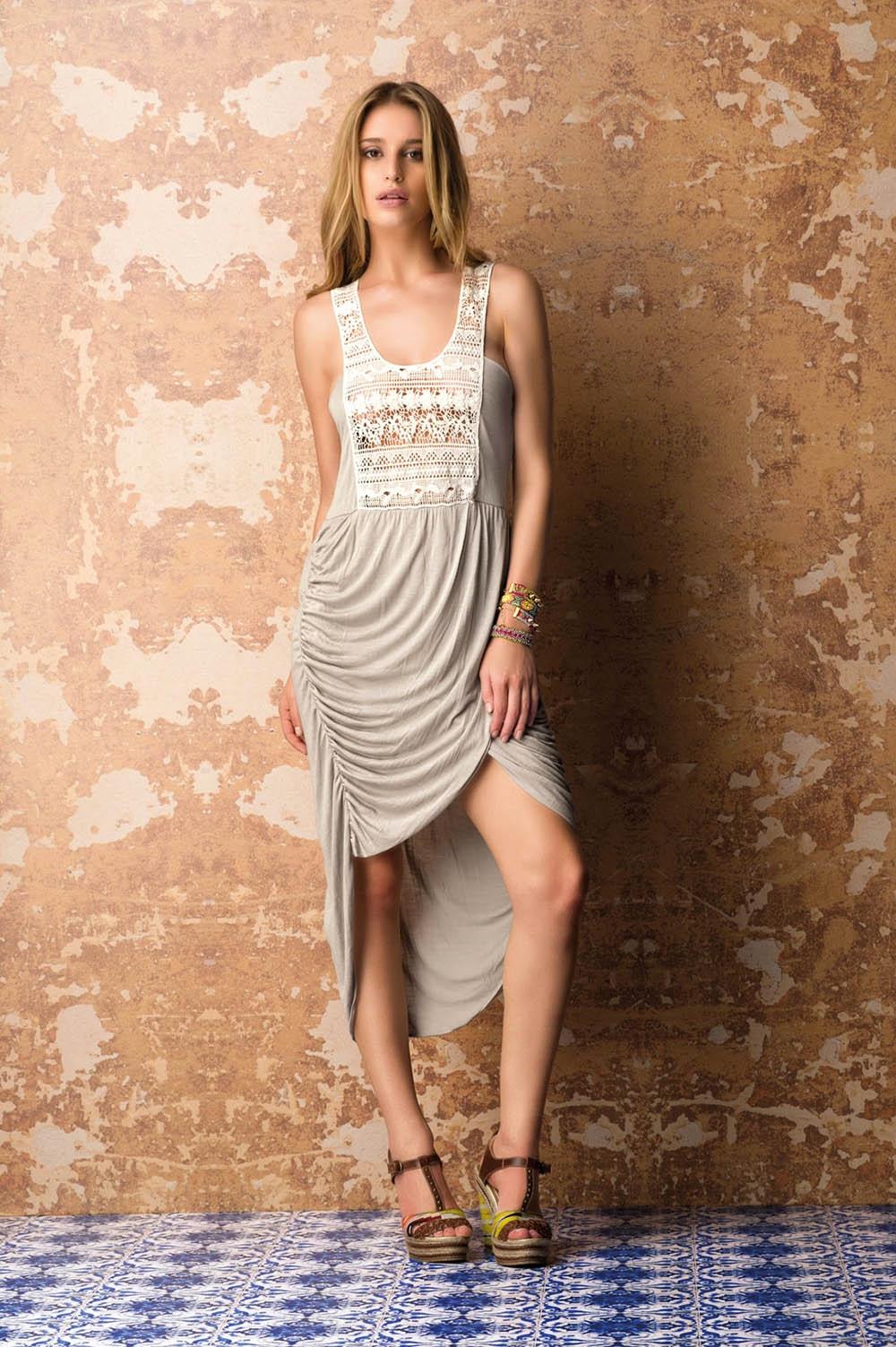 Платье Saha K29B, Серый