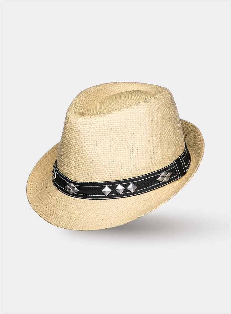 Светло-бежевая шляпа SAM, Бежевый