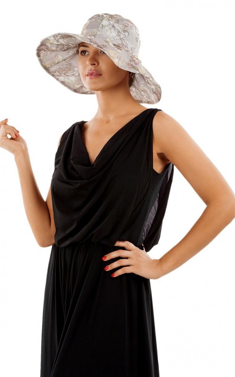 Женская шляпа серая HWHT801 от VipBikini