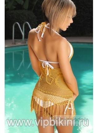 Платье бежевое 10473-GLD
