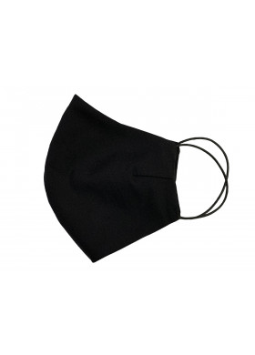 Черная тканевая защитная маска