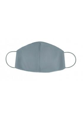 Серая хлопковая защитная маска