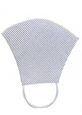 Голубая полосатая защитная маска, 5 шт.