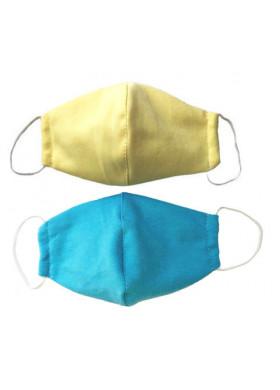 Детские защитные тканевые маски 2 шт.