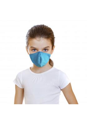 Детская защитная голубая маска