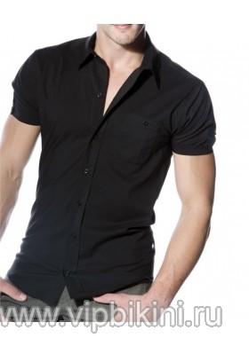 Рубашка черная 10019