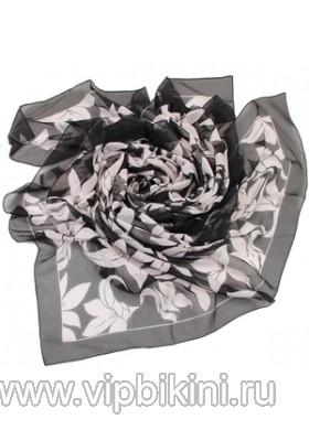 Парео Venera 2801272 черно-белые лилии