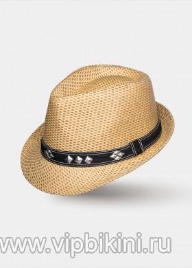 Бежевая шляпа SAM