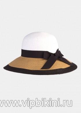 Светло-бежевая шляпа ELEGANCE