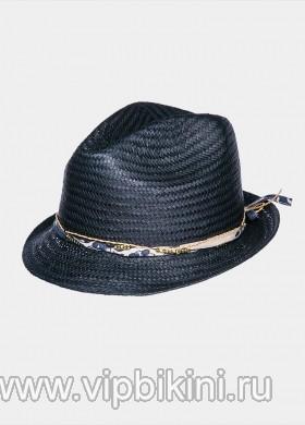 Темно-синяя шляпа MIMI