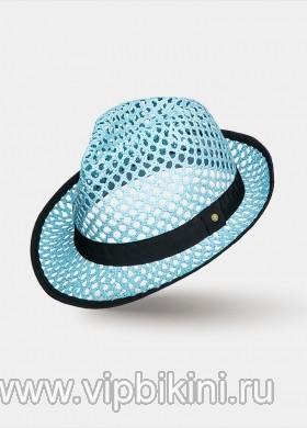 Голубая шляпа DAIMA