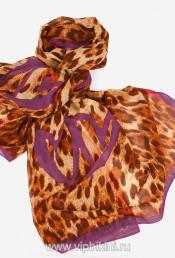 Палантин Venera 901 тигрово-фиолетовый