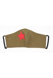 Защитная маска с красной звездой