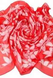 Парео Venera 2801272 бело-красные лилии