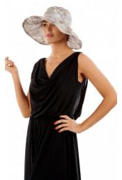 Женская шляпа серая HWHT801