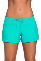 Голубые женские шорты