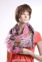 Палантин Venera 401 розовый
